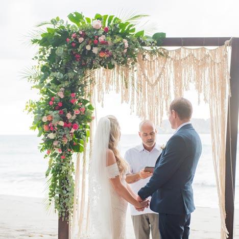 Stunning vistas for wedding photos